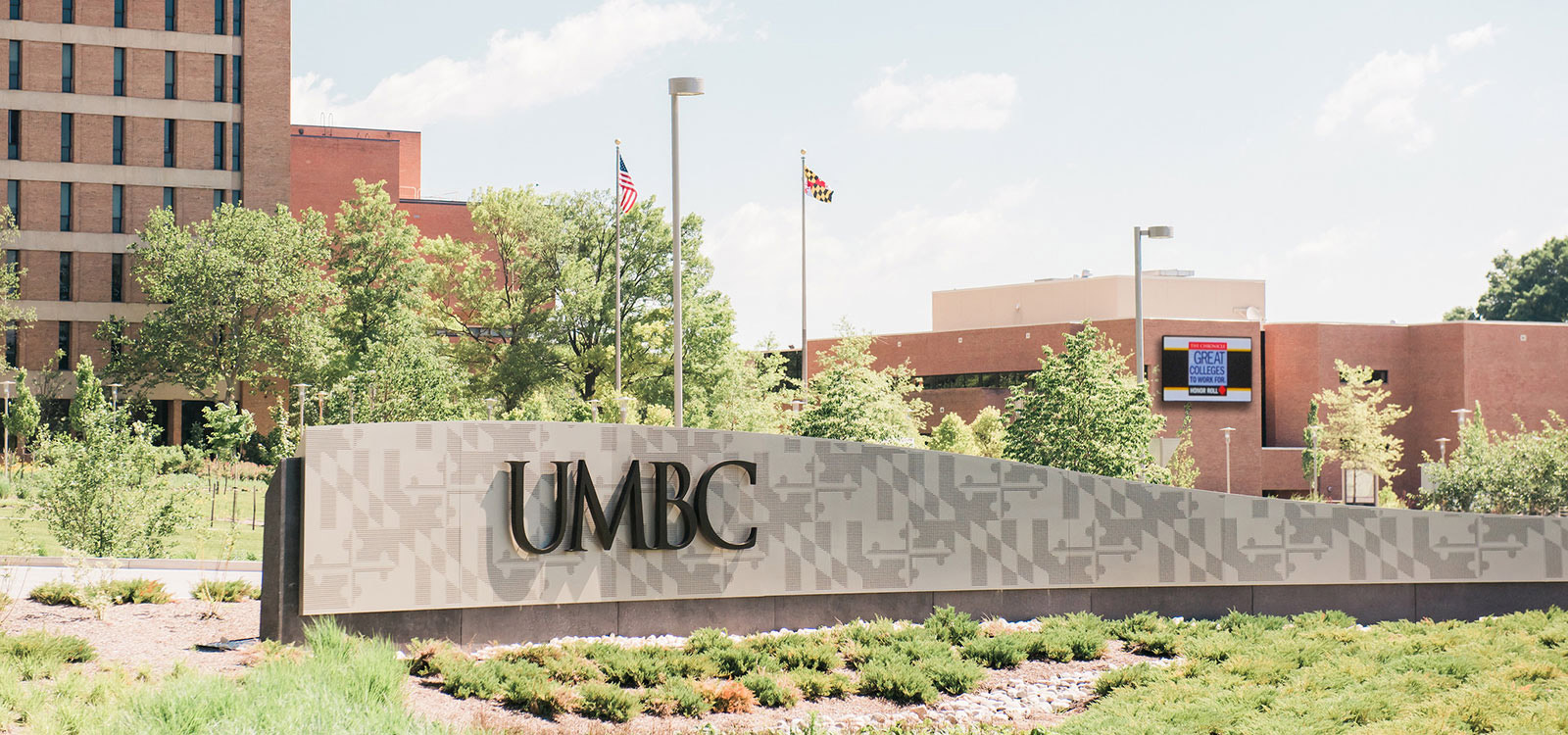Photo of UMBC Campus